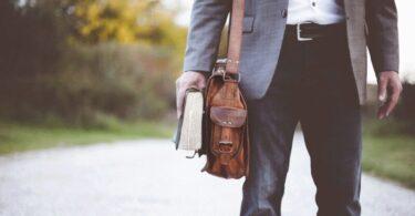 Businessman, Geschäftsmann, Reisetasche