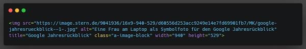HTML, HTML-Code