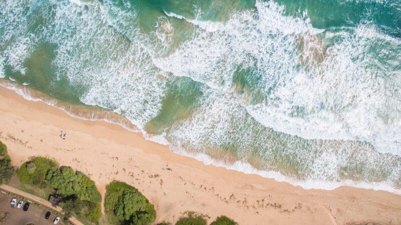 Küste, Meer, Strand, Wasser