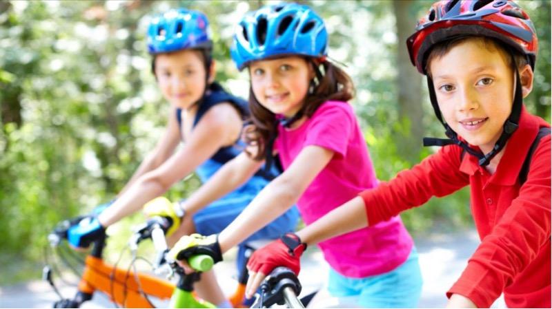 Verkehrssicherheit, Radfahren, Kinder, Schule