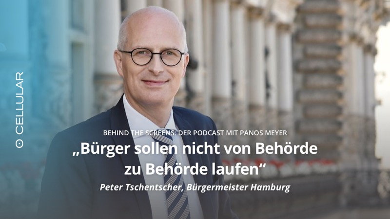 Podcast, Behind The Screens, Digitalisierung, Panos Meyer, Peter Tschentscher, Bürgermeister Hamburg