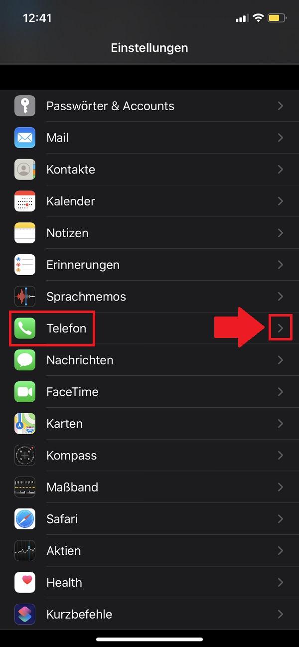 iPhone-Nummer unterdrücken, iPhone-Rufnummer unterdrücken, iPhone Telefonnummer unterdrücken, iPhone 11