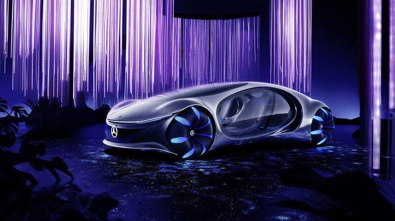 Konzeptauto, Vision AVTR, CES Las Vegas, Mercedes