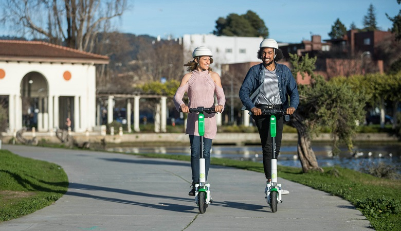 Lime, E-Scooter, E-Roller, Scooter