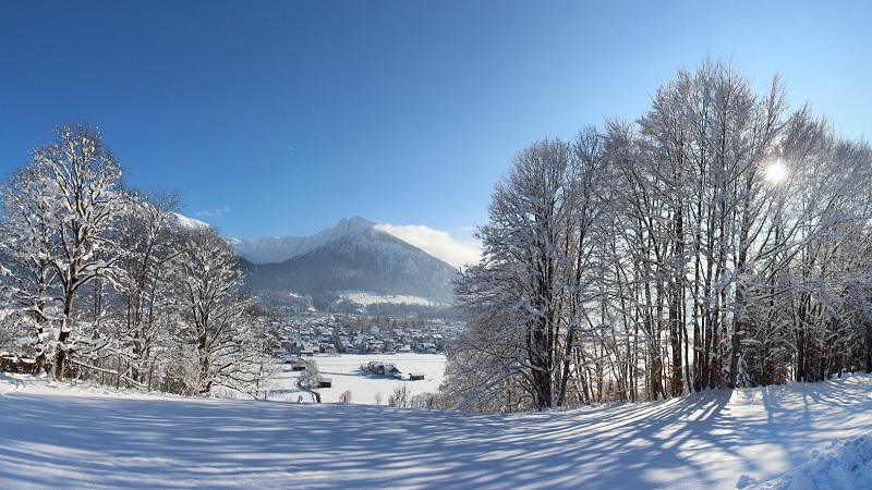 Oberstdorf, Alpen, Schnee, Winter, Winterurlaub