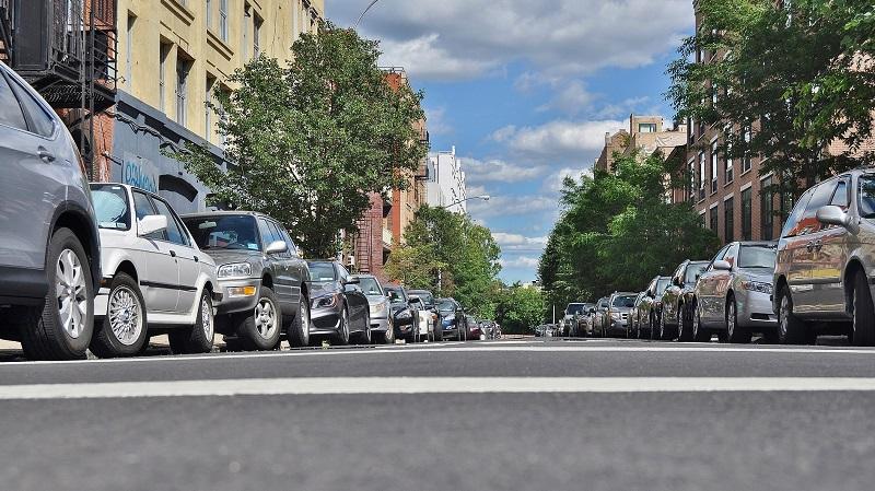Parken, Autos, Stadt, Verkehr, Parkplatz