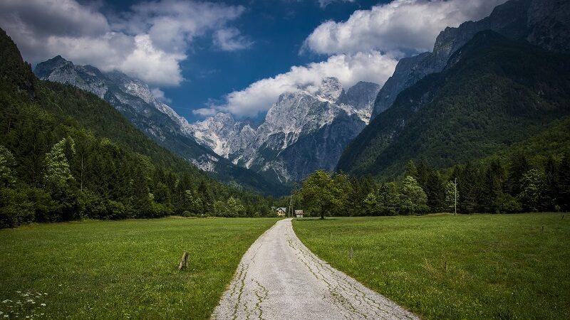 Slowenien, Alpen, Berge, wandern