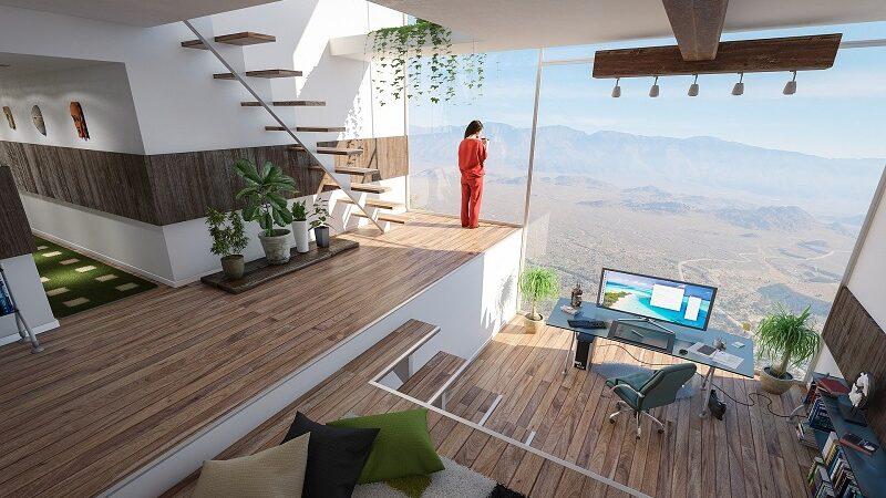 Wohnung Luxus, Innenraum, Design