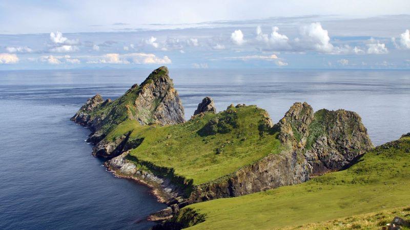 St. Kilda, Insel, Schottland, Landschaft