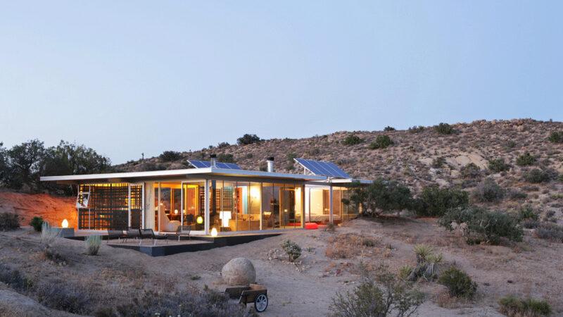 Kalifornien, Wüste, Haus