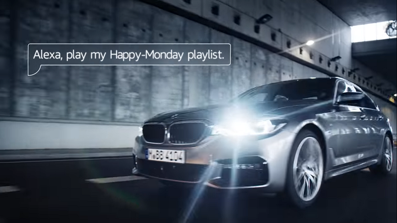 Alexa Auto, BMW, Connected Cars, Sprachassistent