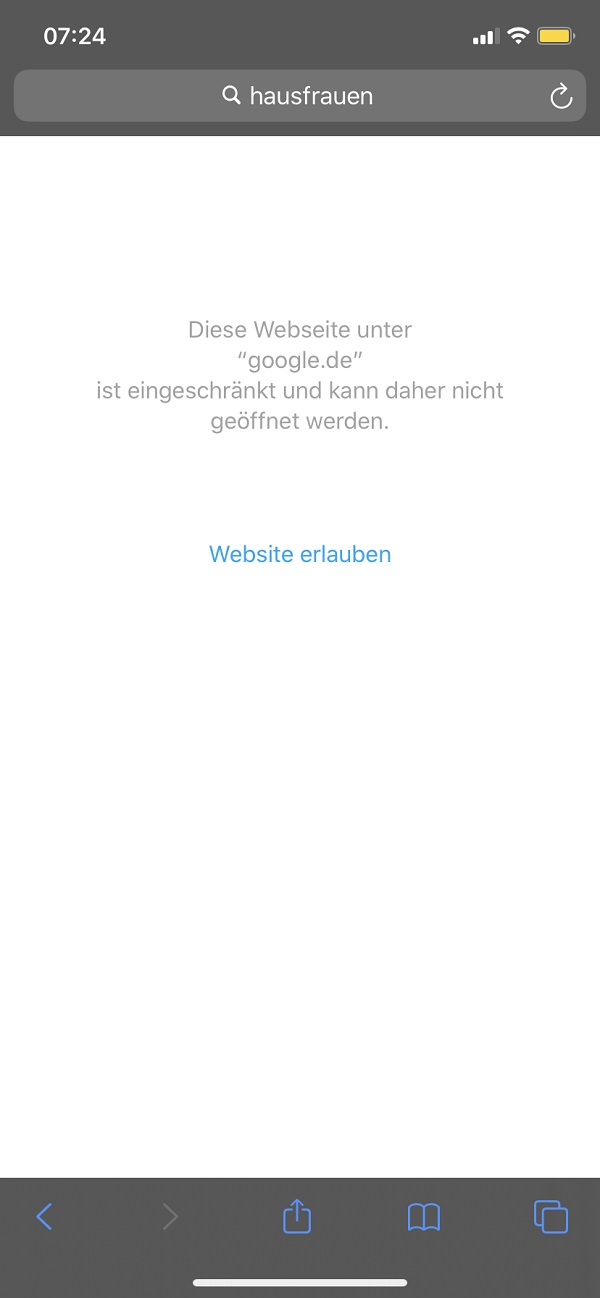 Apple, Content-Filter, Jugendschutz, Kinderschutz