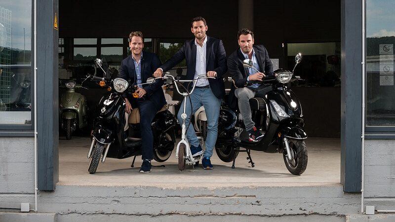 Kumpan electric, Ebility GmbH, Daniel, Philipp und Patrick Tykesson