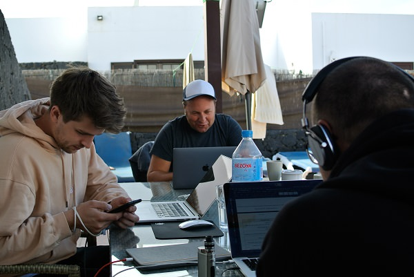 Workation, Pop-up-Office, Cyperfection, Lanzarote