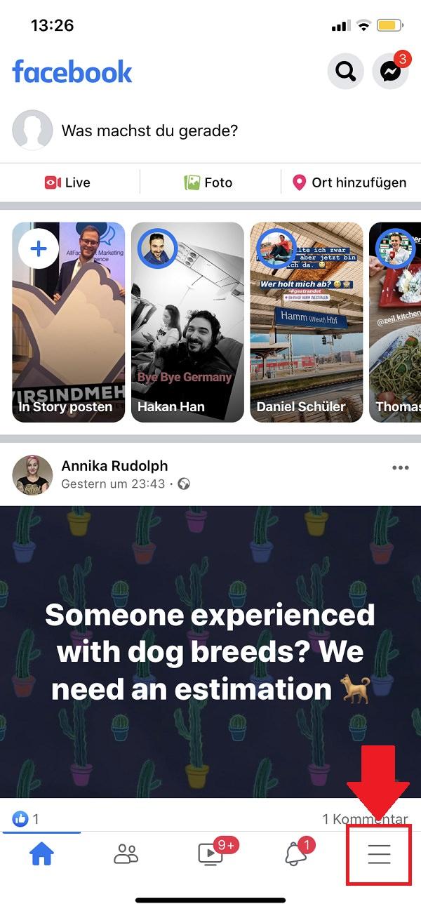 Facebook-Gesichtserkennung deaktivieren