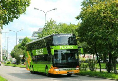 Flixbus München, Doppeldecker Bus, Fernbus