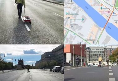 Google Maps Hack, Simon Weckert