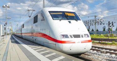ICE, Zug, Deutsche Bahn, Fernverkehr, Ruheabteil