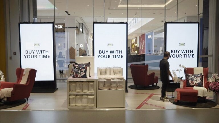 Ikea, Buy with your time, Melmac Ogilvy, Dubai
