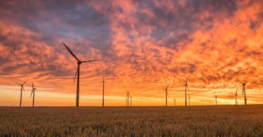 Windanlagen, Energie, Natur