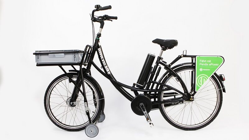 E-Bike, Fahrrad, Briefzustellerfahrrad, Zustellbike, Pendix