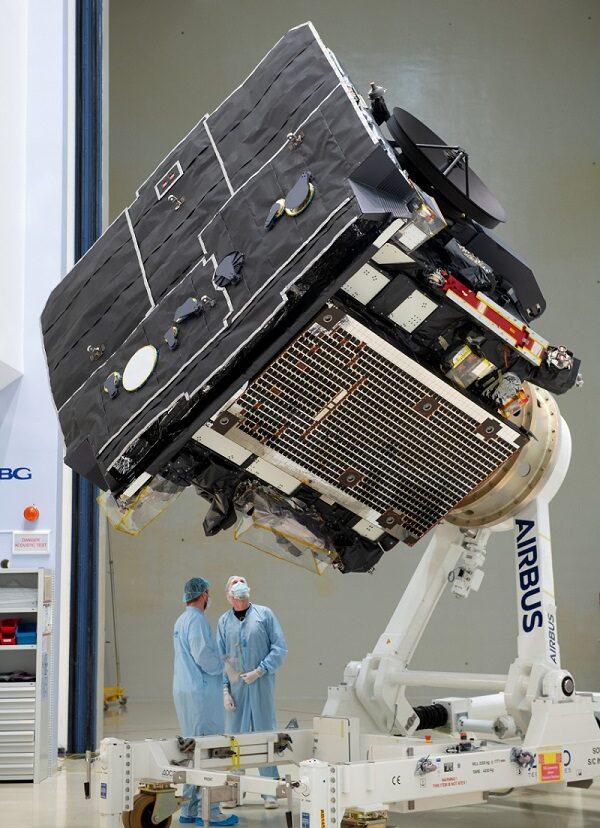 Solar Orbiter Schutzschild, ESA