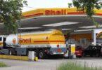 Shell Tankstelle, Diesel, Benzin, tanken