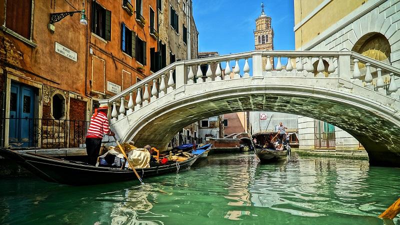 Venedig, Gondeln, Kanal, Tourismus, reisen