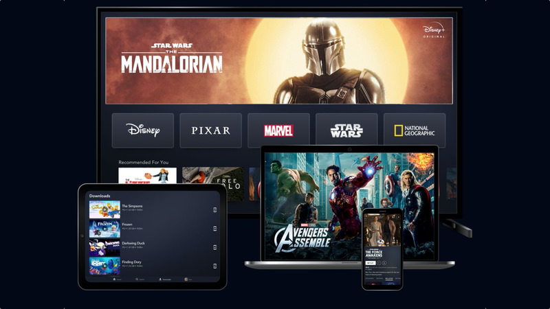 Disney Plus, Disney Plus Geräte, The Mandalorian