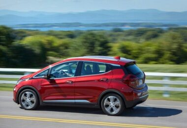 Chevrolet Bolt EV, GM, General Motors, Elektroauto, Auto, Landschaft