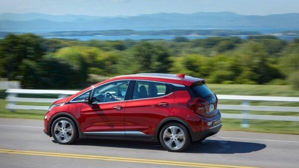 Chevrolet Bolt EV, GM, General Motors, Elektroauto, Auto, Landschaft