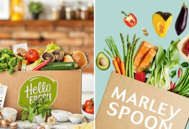 Hello Fresh, Hellofresh, Marley Spoon