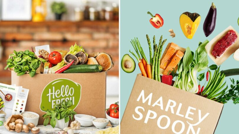 Hello Fresh, Hellofresh, Marley Spoon