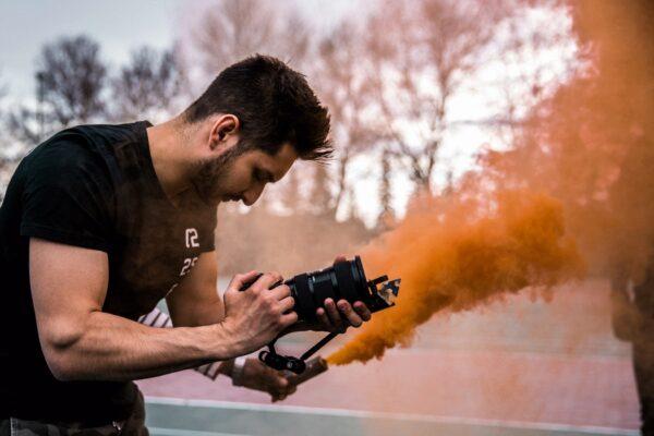 Videoproduktion, Filmen
