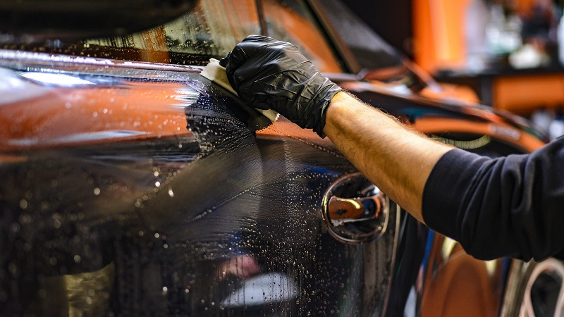 Auto reinigen, putzen, Autopflege