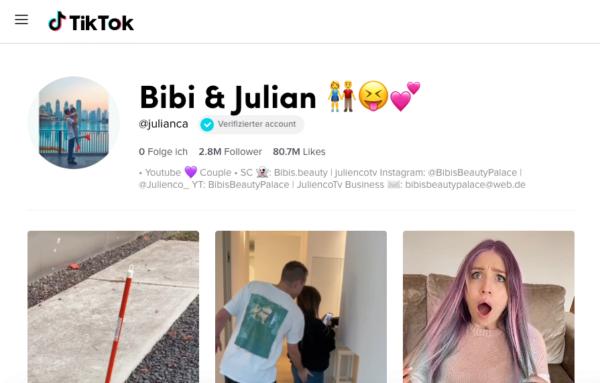 TikTok, Bibi, Julian