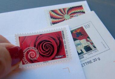 Briefmarke, Post, Brief, Briefe, digitale Briefmarke, mobile Briefmarke
