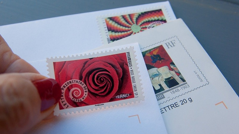 Briefmarke, Post, Brief, Briefe, digitale Briefmarke, mobile Briefmarke