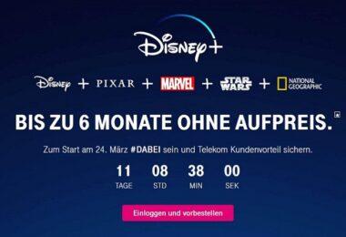 Disney Plus, Deutsche Telekom, Streaming
