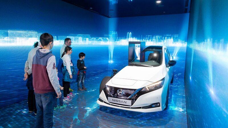 GIMS, Genfer Autosalon 2019, Nissan, Messe, Besucher