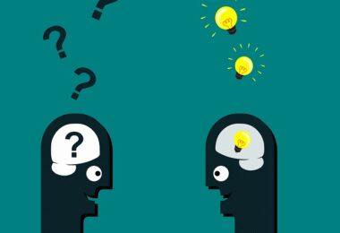 Fragen, Antworten, Ideen, Unterhaltung, Gründer-Fragen