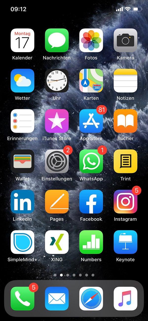 Nadine Dlouhy, Brandlite GmbH, Homescreen, iPhone, Apple, Apps, iOS