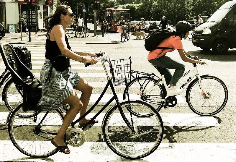 Kopenhage, Radfahrer, Straße, Verkehr