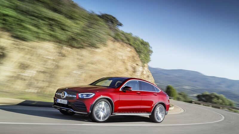 Mercedes-Benz GLC Coupé 2019, Mercedes, Auto
