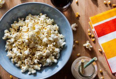 Popcorn, Heimkino, Filmabend, Filme leihen