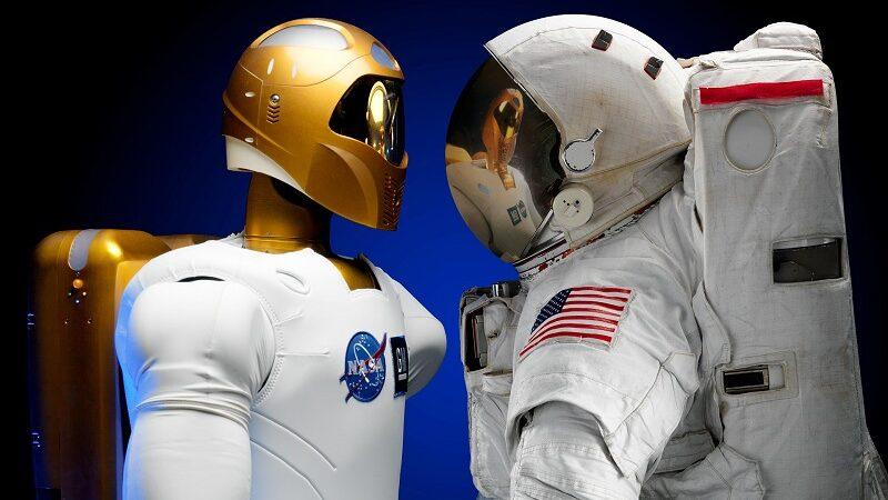Roboter, Astronaut, Robonaut, NASA, Weltraum, Raumfahrt
