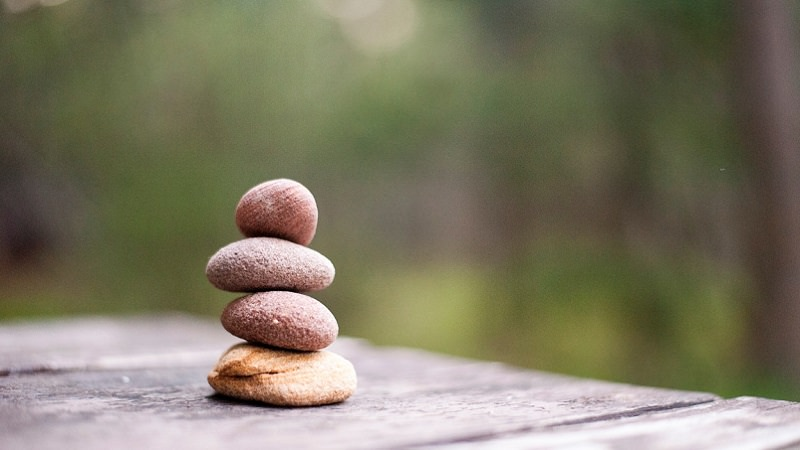Ruhe, Entspannung, Abstand, Meditation, Corona-Panik