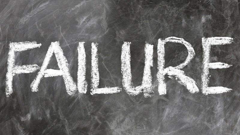 Failure, Scheitern, Kultur des Scheiterns