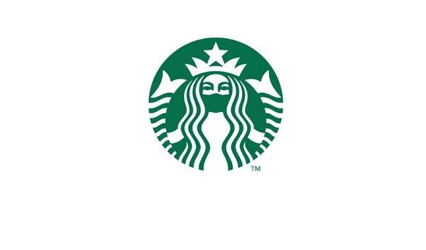 Starbucks, Markenlogos, Logos, Corona-Logos, Coronavirus, Covid-19