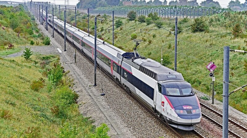 TGV, Zug, SNCF, Bahn, Frankreich, Hochgeschwindigkeitszug